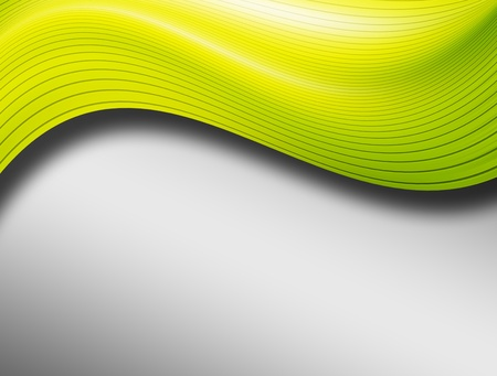 Green and gray background. Abstract and dynamic illustration Stock Illustration - 9694042