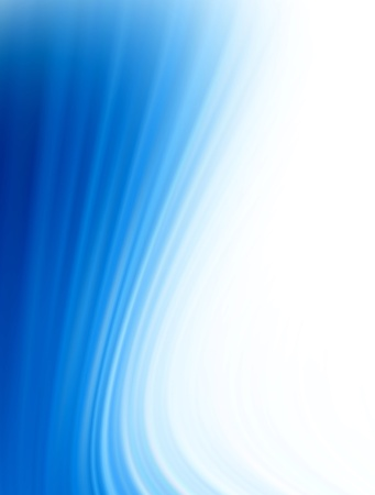 bluish: Blue dynamic waves over white background. Concepts: Modern, Abstract and energy