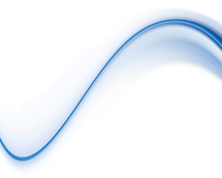 banner backgrounds: Blue and white dinamic waves over white background. Illustration