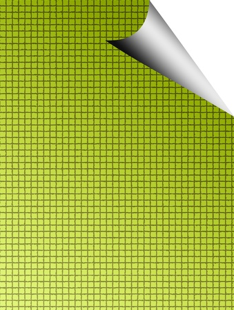 Green texture over white background. Space to insert text or design Stock Photo - 9696795