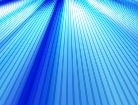 Blue dynamic lines background with perspective. Illustration Stock Illustration - 9694123