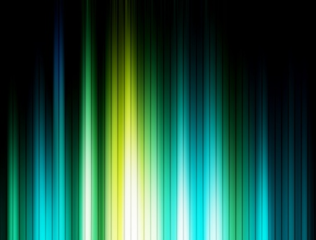 bue: Green, blue and black luminous lines background