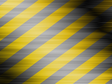 Lines of caution over background yellow con lines black Stock Photo - 9696725