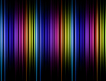 Blue, purple, green and black lines. Abstract background photo