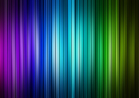 Blue, green and purple lines background, Abstract illustration Stock Illustration - 9694048