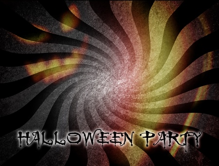 Halloween party over dynamic and vintage background Stock Photo - 9696728