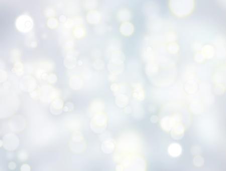 brilliant: Christmas blur background with shining lights. Blue soft  illustration