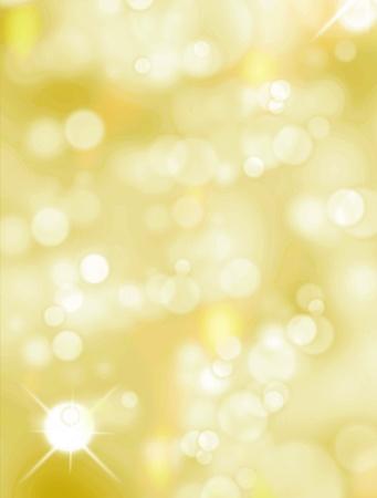 luminous: Christmas light background, Yellow and white luminous image Stock Photo