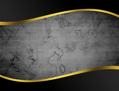 gold bar: Black, gray and gold abstract background, space to insert text or design