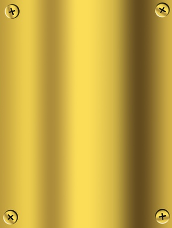 brass: Luxury golden texture with space for insert text or design. Illustration Stock Photo