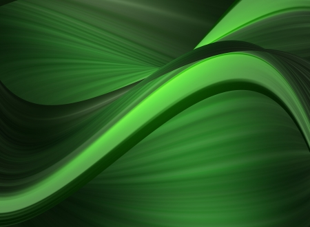 green dynamic background. abstract illustration illustration