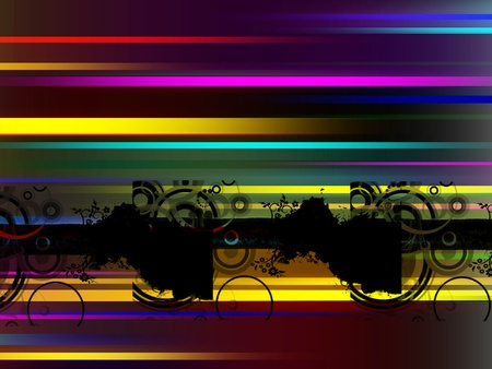 red, yellow, red and blue lines background Stock Photo - 9697981