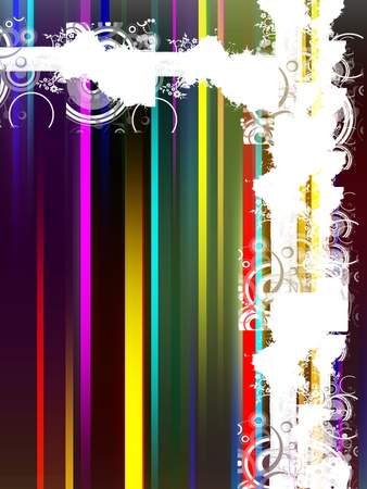 colors lines background, lines effect Stock Photo - 9697560