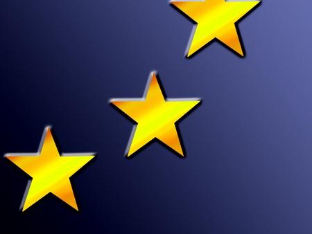 european union, blue flag with yellow stars photo