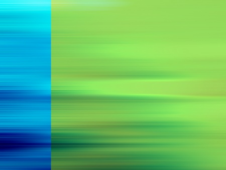 blue lines transform in green lines. abstract illustration Stock Illustration - 9697964