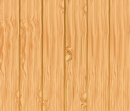 old fence: pattern of wooden boards Illustration