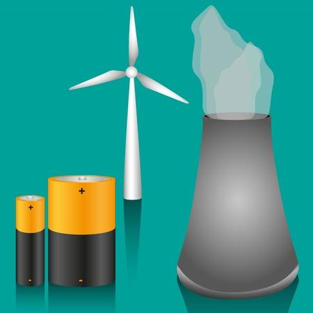 windpower: energy icons