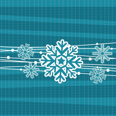 cute snowflake   Vector