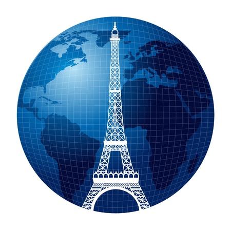 Eiffel tower Stock Vector - 14040470