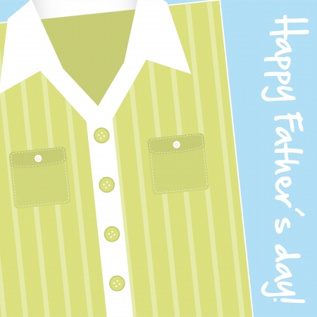 happy fathers card background. vector illustration Vector
