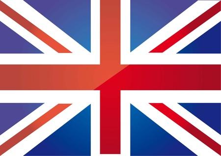 drapeau anglais: drapeau londres arrière-plan. illustration vectorielle Illustration