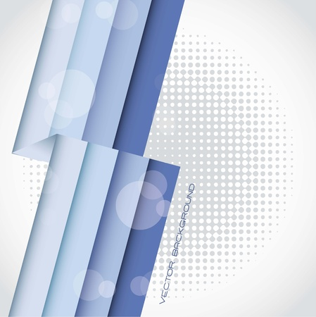blue lines over gray background. vector illustration Stock Vector - 14452585