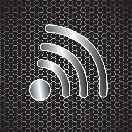 Internet signal symbol vector illustration Vector