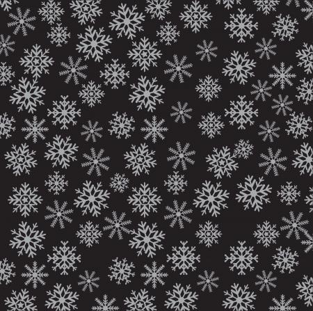 backkground: Bwauty and decorative black flower background. Vector illustration