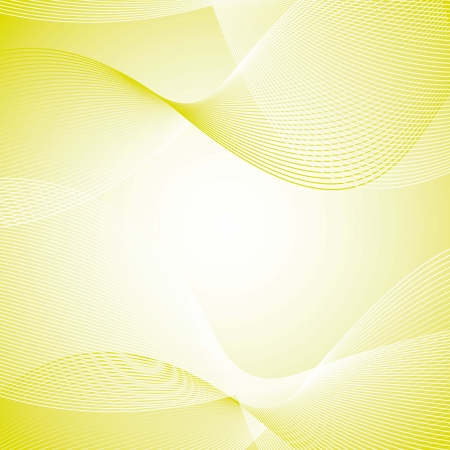 green wave with space for copy, background. vector illustration Vector