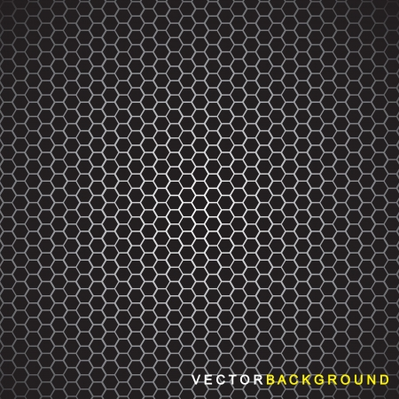 Grid background with light. Vector illustration  Vector