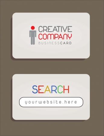 Presentation card. Creative and modern design  Stock Vector - 14654909