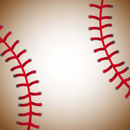 baseball ball texture background, old. vector illustration Vector