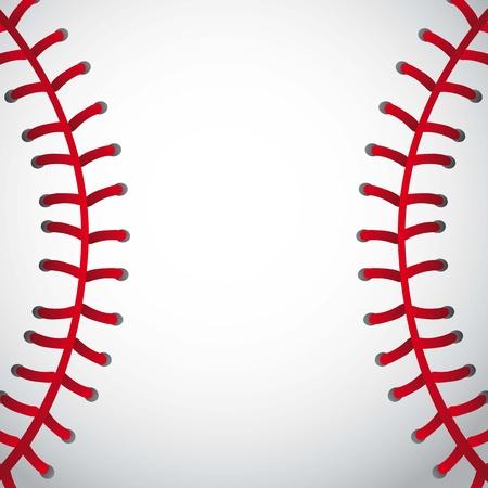 honkbal bal textuur achtergrond. vector illustratie