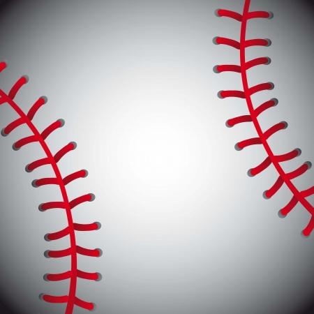 sphere base: baseball ball, texture background. vector illustration