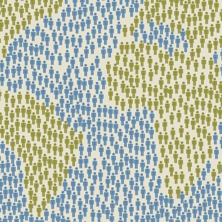 paix monde: carte avec le signe des hommes de fond, style vintage. illustration vectorielle Illustration