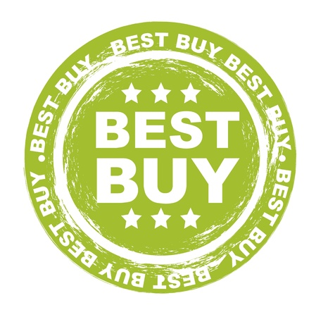 best buy stamp over white background. vector illustration Vector