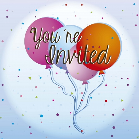 flotation: Birthday Balloons,