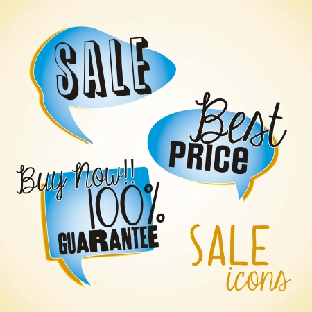 tweet balloon: Sale labels blue ballons, bets price labels