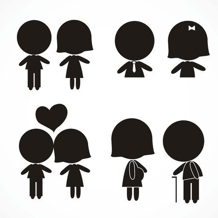 People Icons, international signals
