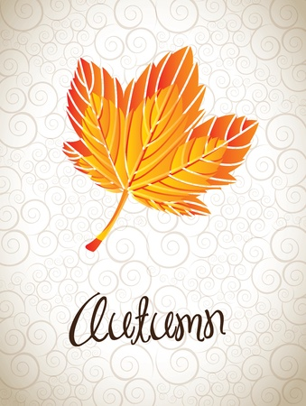 autumn icons over vintage background vector illustration Stock Vector - 16703408