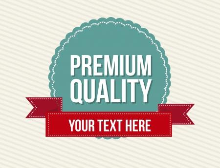 vintage labels over beige background. vector illustration Stock Vector - 16701828