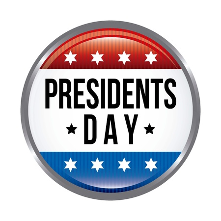 presidents day background, united states. vector illustration Stock Vector - 17349360
