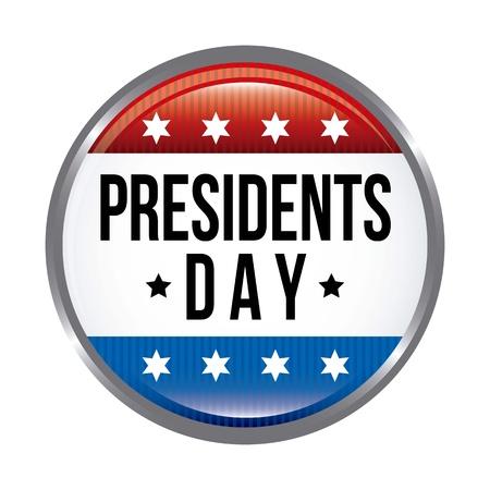 presidents: presidents day background, united states. vector illustration