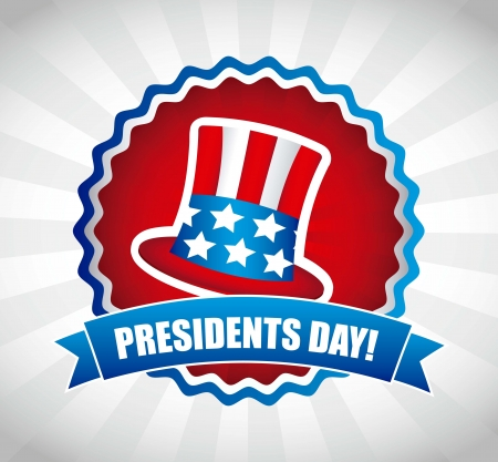 presidents day background, united states. vector illustration Stock Vector - 17349483