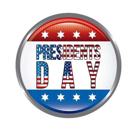 presidents day background, united states. vector illustration Stock Vector - 17349404