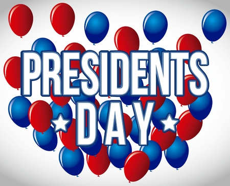 presidents day background, united states. vector illustration Stock Vector - 17349274