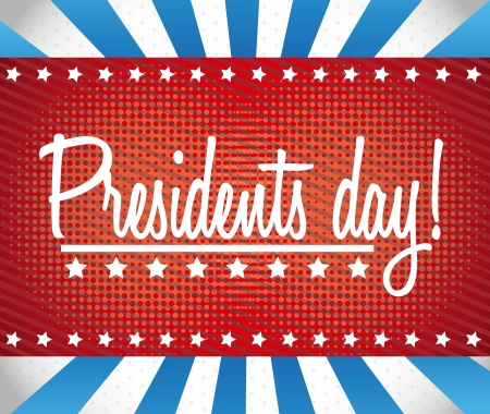 presidents day background, united states. vector illustration Stock Vector - 17349506