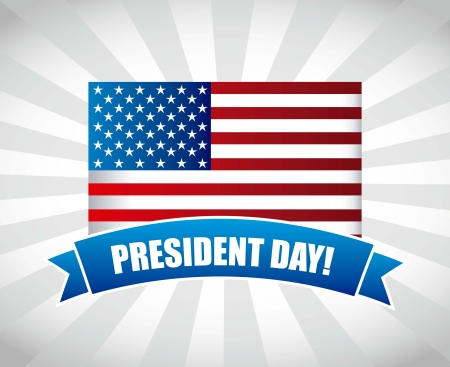 presidents day background, united states. vector illustration Stock Vector - 17349183