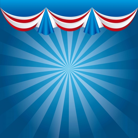 presidents day background, united states. vector illustration Stock Vector - 17349552