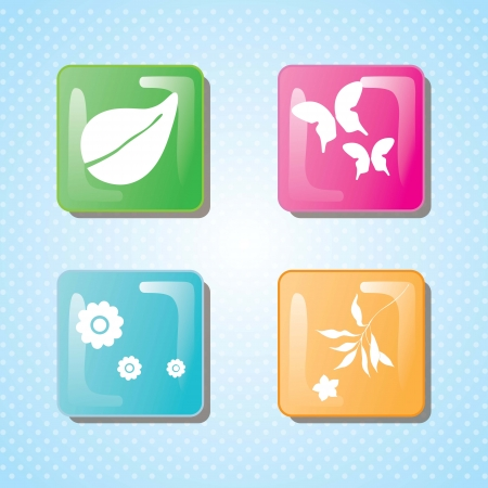 spa icons over light background vector illustration  Stock Vector - 17349475